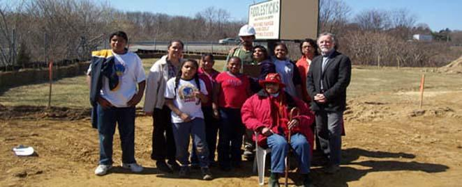 Narragansett Indians Visiting the Fiddlesticks Project, North Kingstown, RI