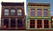 Honans Block, Before and After, Woonsocket, RI  1989