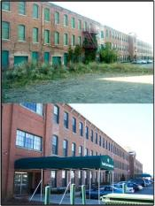Kaiser Mill / Elder Care III Housing, Before and After, Bristol, RI  1998-2000